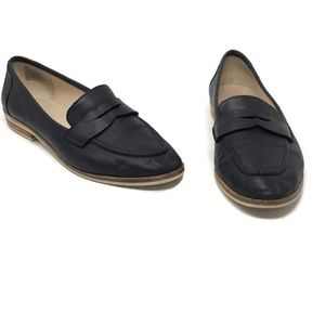 Nine West Antonecia Penny Loafers Black Size 8
